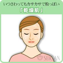 乾燥肌でお悩みなら|東京 三軒茶屋 からだのことなら|肌・頭皮(薄毛)の悩みの改善に「ヒト幹細胞と植物幹細胞による」メディカル系フェイシャルエステケア【FCR・リアボーテハーブ・ACトリートメント・クレアスキン基礎化粧品の正規取扱いサロン】