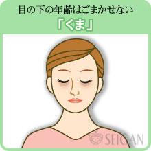 目の下のクマの悩み|東京 三軒茶屋 からだのことなら|肌・頭皮(薄毛)の悩みの改善に「ヒト幹細胞と植物幹細胞による」メディカル系フェイシャルエステケア【FCR・リアボーテハーブ・ACトリートメント・クレアスキン基礎化粧品の正規取扱いサロン】