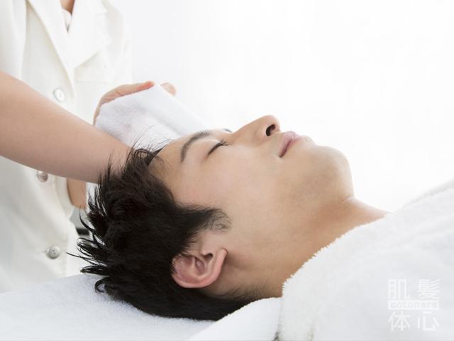 本気のメンズ美容サロンをお探しなら、東京 三軒茶屋からだのことならへ|男性の乾燥肌・ニキビ肌・カミソリ負け・テカリ肌・ザラザラ肌・薄毛の悩みの改善に「ヒト幹細胞と植物幹細胞による」メディカル系フェイシャルエステケア
